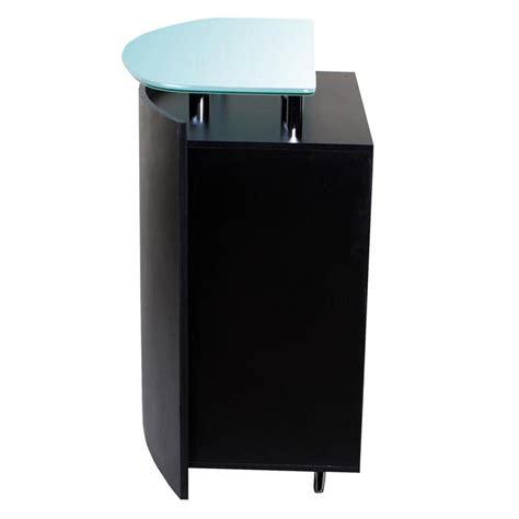 Black Salon Reception Desk New Black Salon Spa Reception Waiting Desk Rc 03b Ebay