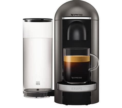 Krups Coffee Machine buy nespresso by krups vertuoplus xn900t40 coffee machine