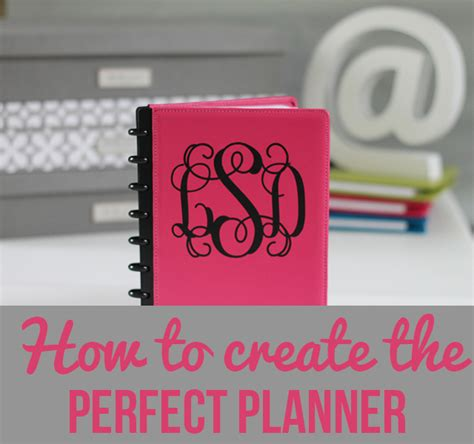 build your own planner creating your own planner start with the basics i