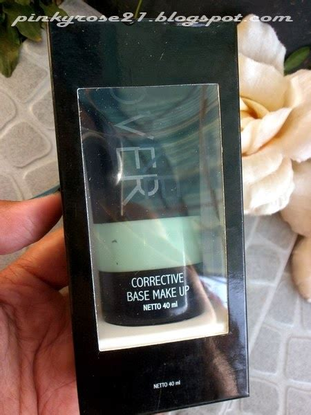 Make Lipstick Review Dan Harga potted pinkyrose review makeover corrective base makeup greenish 02