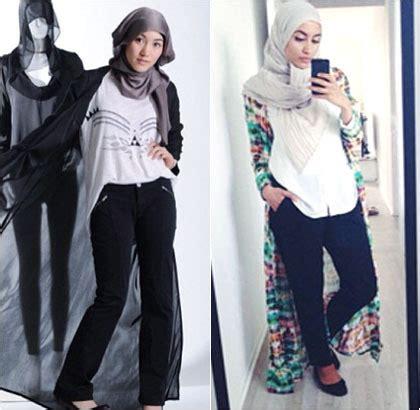 Cardigan Panjang Semata Kaki Style Tren Cardigan Semata Kaki Ala Hijabers Untuk