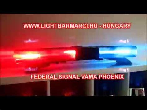 Sale Strobo Kaca Dashboard Federal Vama 9 Led Luxeon Usa federal signal vama p7000 lightbar doovi