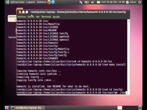 tutorial hamachi linux instalaci 243 n y configuraci 243 n de cliente hamachi en ubuntu