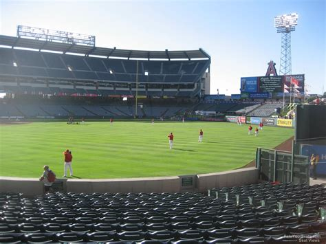 section 8 anaheim angel stadium section 134 rateyourseats com