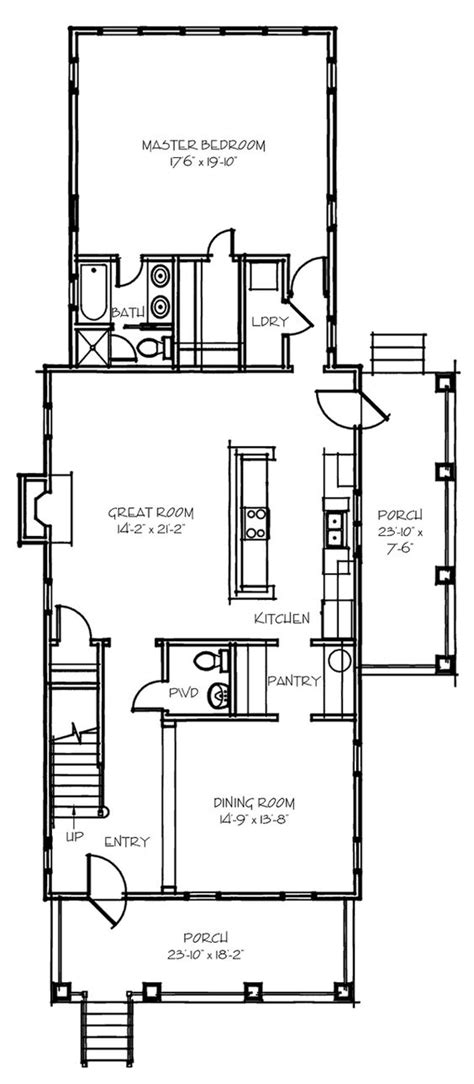 narrow kitchen floor plans pinterest the world s catalog of ideas