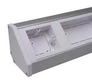 desk cable trunking bench trunking with lid ppbt 163 82 68 cable