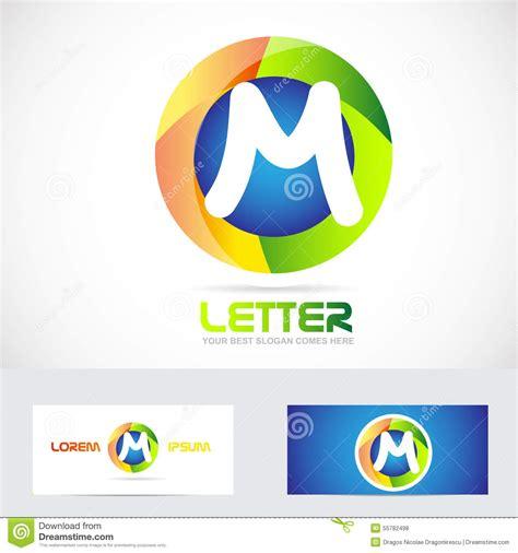 Letter M 3d Logo Stock Vector - Image: 55782498 M 3d Logo