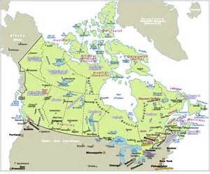 carte du canada world map weltkarte peta dunia mapa