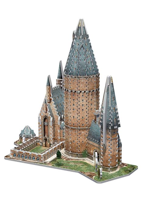 hogwarts great hall hogwarts great hall 3d puzzle