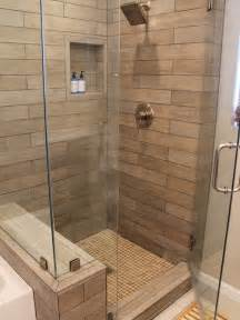 Wood tile shower ideas pictures remodel and decor