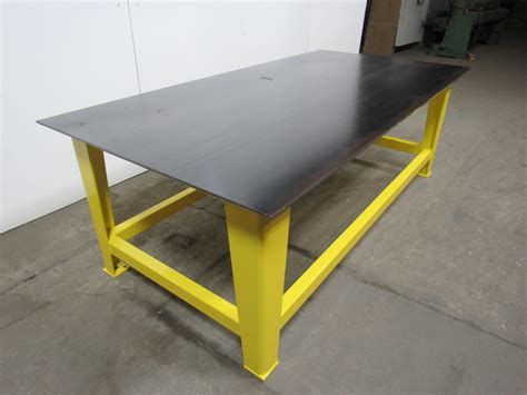 steel welding work bench assembly layout table 96 quot x 48 quot 3