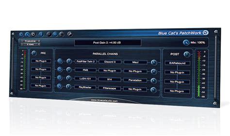 Blue Cat Audio Patchwork - blue cat audio patchwork review musicradar