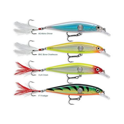 rapala lures rapala clackin minnow lures tackledirect