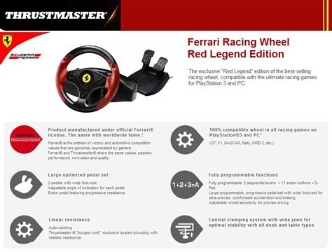 Racing Wheel Legend Edition Steering Thrustmaster Legend Edition Racing Wheel For