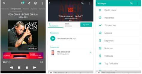 cadena ser tunein las mejores apps de radio y m 250 sica para android