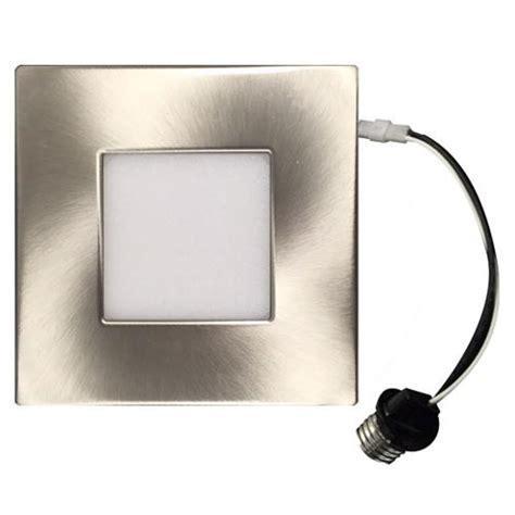 square recessed lighting retrofit 4 inch ultrathin led recessed retrofit square rf utled