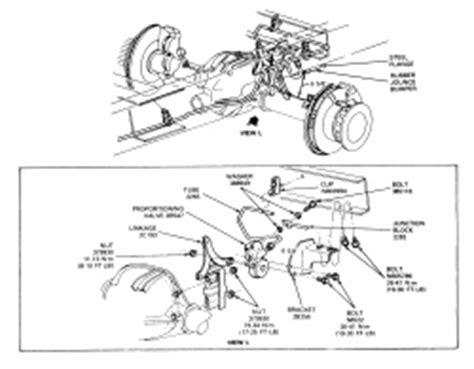 repair guides brake operating system height sensing 2003 gmc truck safari van awd 4 3l fi ohv 6cyl repair guides brake operating system height