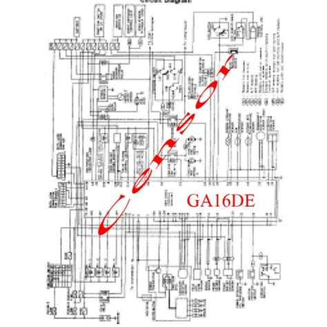nissan ga16de wiring diagram wiring diagram with description