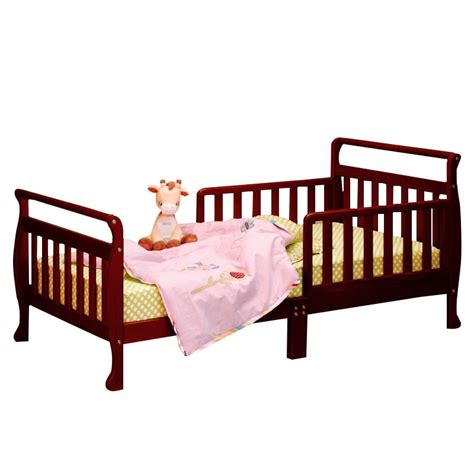 cherry toddler bed athena anna toddler bed in cherry 7008c