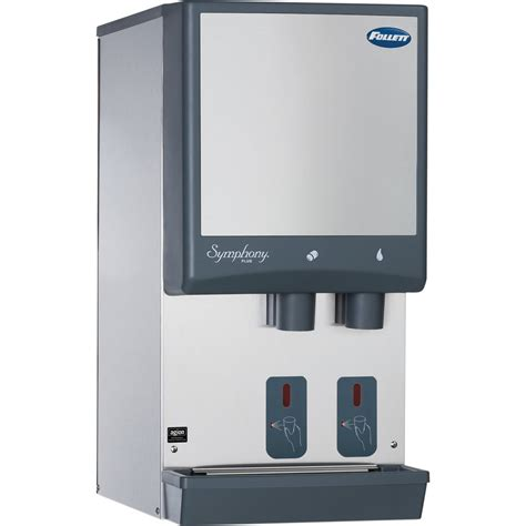 Used Dispenser Countertop by Follett 12ci425a S Symphony Plus 12 Series Countertop And Water Dispenser With Sensorsafe