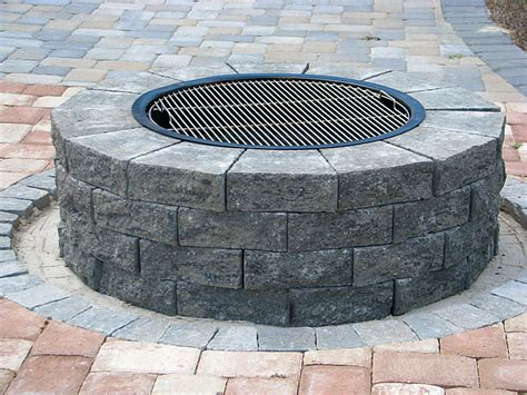 Do It Yourself Firepit Do It Yourself Pit Installation And Grill Kit Recipes Enhance Companies