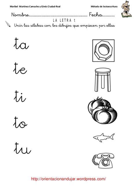 imágenes que empiecen con la letra t lectoescritura t