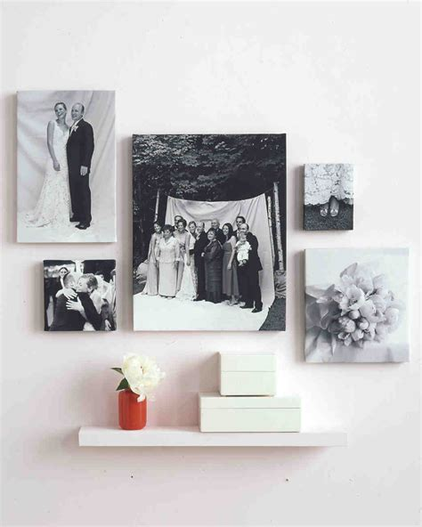 modern photo display 29 creative ways to display photos at your wedding