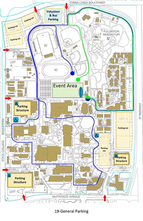csuf map donate run fullerton california 5k