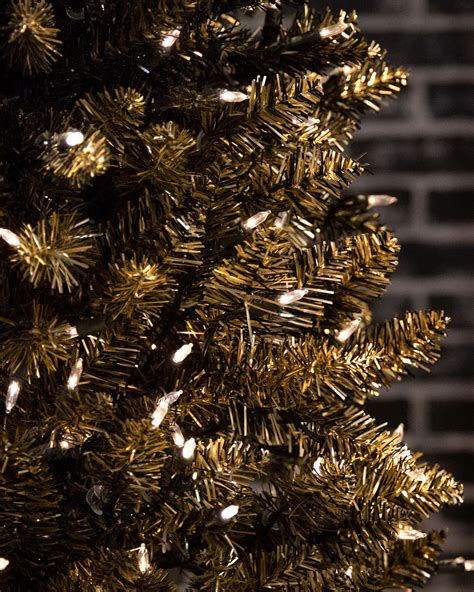 pictures of black and gold christmas tree black gold ombre tree treetopia