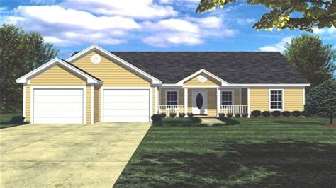 Ranch Style House Plans With Basements by House Plans Ranch Style Home Ranch Style House Plans With