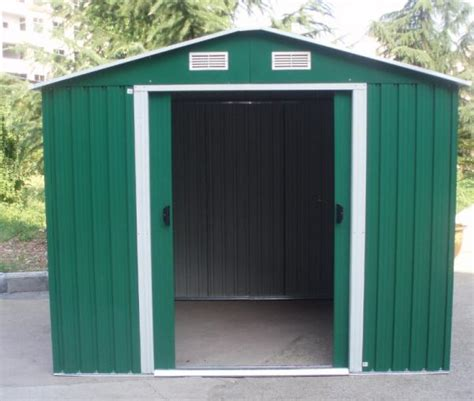 Metal Shed Assembly by Assemble Metal Storage Shed Metal Storage Shed With