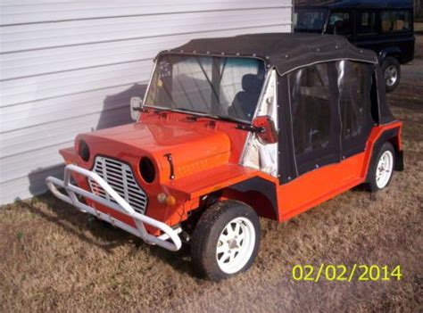 A New Sort Of Mini Moke by Find New Mini Moke In Earl Carolina United States