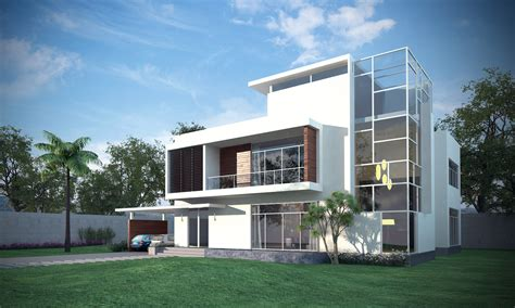 3d Models Luxury Contemporary House 3d Model Max Obj House Plans 3d Max