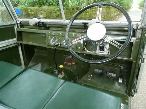 land rover series 3 interior 437 jpu 1957 land rover series 1 galvanized chassis