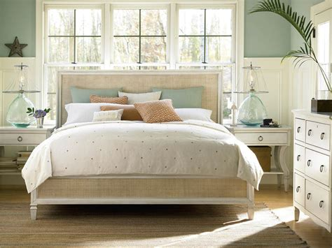 White Seaside Bedroom Furniture by Universal Furniture Summer Hill Cotton Bedroom