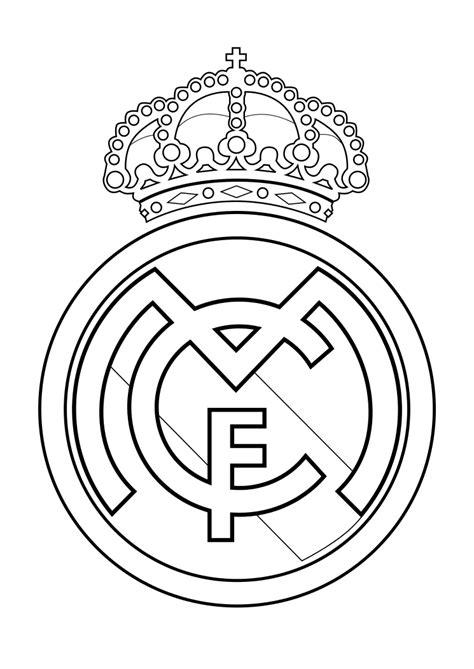 escudo del madrid para colorear az dibujos para colorear escudo real madrid para colorear buscar con google