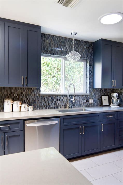 blue kitchen backsplash 1000 images about kitchens on white kitchens white cabinets and islands