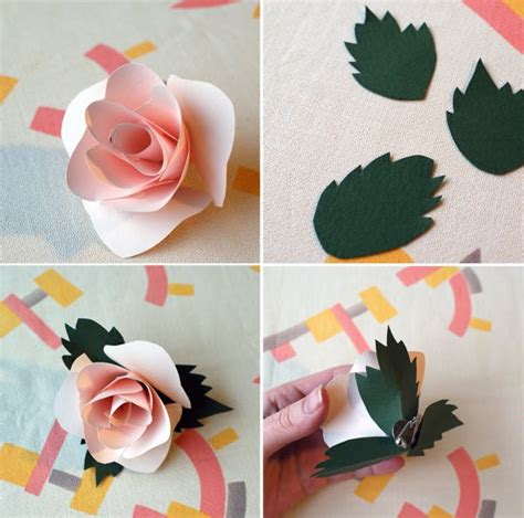 paper flower corsage tutorial diy paper flower corsages