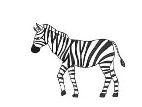 Zebra Outline Picture by How To Draw A Zebra With Pictures Wikihow
