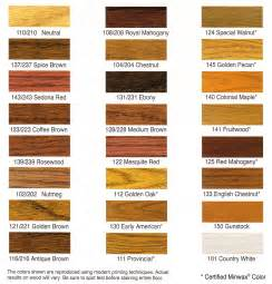 stain color chart dura seal stain colors flooracle knowledge center