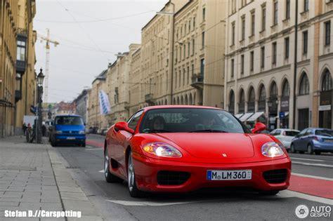 Ferrari Shop M Nchen by Ferrari 360 Modena 4 Mrz 2014 Autogespot