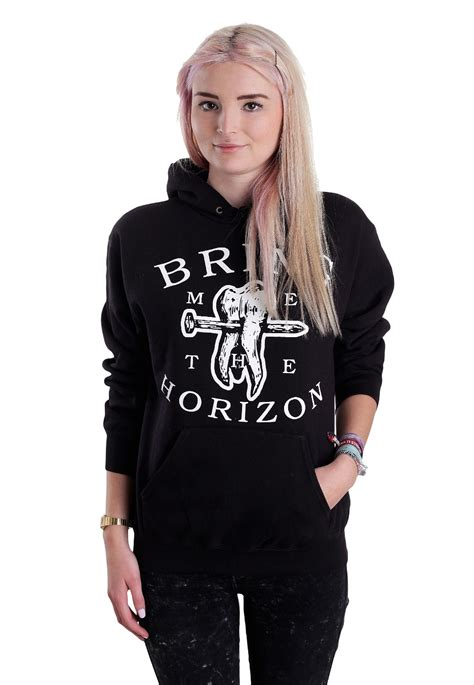 Hoodie Bring Me The Horizon Hitamrockzillastore bring me the horizon blood lust hoodie impericon uk