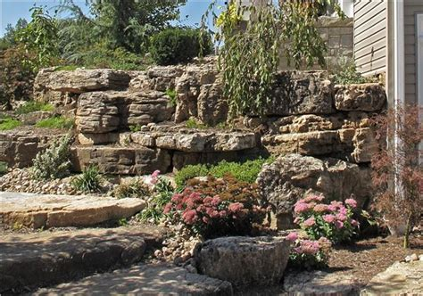 Landscape Rock Belton Mo Out Cropping Idea Gallery Semco Outdoor Landscaping