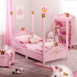 kidkraft princess toddler bed pink contemporary