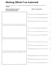 guided notes template doc 1280759 note taking template microsoft word