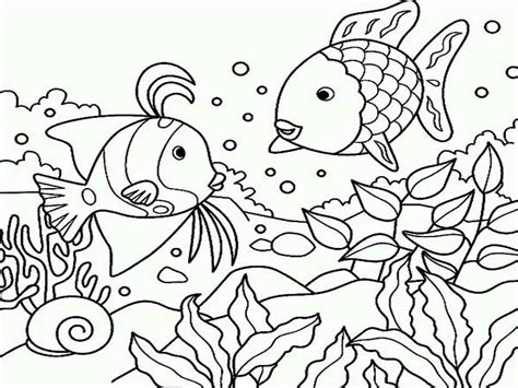 coloring page of under the sea cool under the sea coloring sheets 38 761