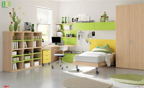 green childrens bedroom ideas modern room furniture from dielle