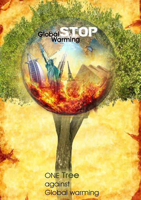 membuat poster global warming dengan photoshop stop global warming poster photoshop by minaluiz on