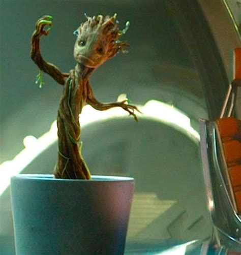 Comic Book Shelves by We Want It Dancing Baby Groot Officially Licensed 4