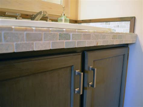 tile bathroom vanity countertop a builder s minimum bathroom gets a maximum makeover diy
